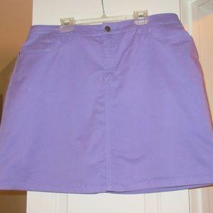 Purple skort